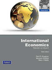 NEW International Economics: Theory and Policy, 9th Edition by Paul R. Krugman