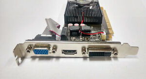 New NVIDIA GeForce GT730 2GB DDR3 DVI VGA HDMI PCI-E Graphics Card