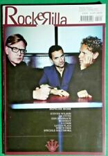 R@R@ RIVISTA MENSILE ROCK&RILLA- DEPECHE MODE -MUSIC MAGAZINE-PERFECT-RIF.4112
