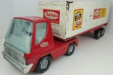 Vtg Nylint True Value Hardware Stores Tractor Trailer Truck Toy Pressed Steel