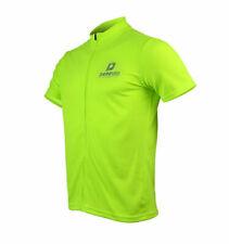 Jersey Short Sleeve Casual Mens Darevie Hi Vis Green DVJ033