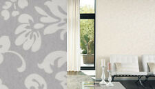 Casadeco Midnight 2 Grey & Cream - MID 1918 92 31 ( MID19189231 ) Wallpaper