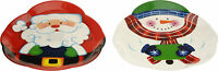 Pack of 2 36cm Christmas Serving Trays Christmas Platter Xmas Party Food Tray