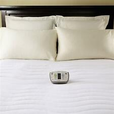 Sunbeam Therapeutic Heated Mattress Pad Queen Size New