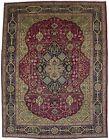 Floral Animal Design Handmade 10X13 Rare Vintage Oriental Rug Home Decor Carpet