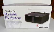Radio Shack Wireless Fm 8 Channel Portable Pa System