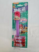 Pez Shimmer And Shine Candy Dispenser Pink And  Purple With Candy