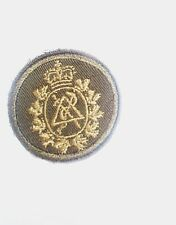 CANADIAN MILITARY DENTAL CORPS CLOTH COMBAT CAP BADGE ARMY SURPLUS