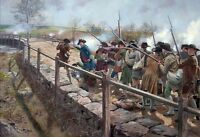 """Concord Bridge - The Nineteenth of April 1775"" Don Troiani Artist Proof Print"
