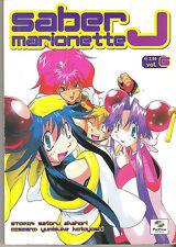 SABER MARIONETTE J n.6  manga a 1€