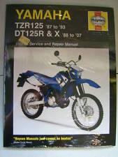 Yamaha Haynes Manual tzr125 Tzr 125 Tz 1987-1993