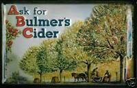 Bulmers Cider Pancarte en Tôle Signe Métal 3D Relief Voûté Étain 20 X 30 CM