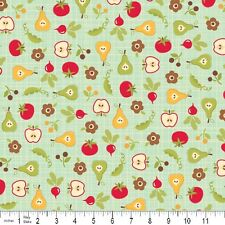 Farm Fresh Teal Rootcellar by October Afternoon for Riley Blake, 1/2 yard fabric