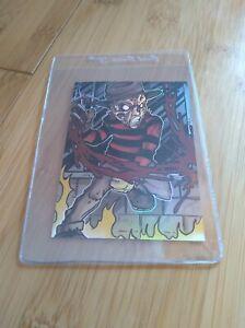Bam! A Nightmare on Elm Street Freddy Krueger Artist Select Foil Card - 5/100