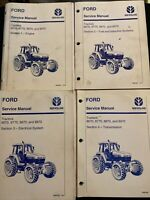 Ford New Holland Service Manual Tractors 8670, 8770, 8870, 8970 *2026