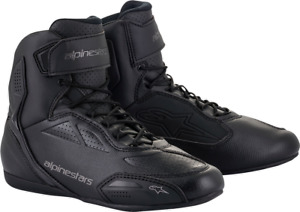 Alpinestars Faster 3 Riding Shoes US 8 Black/Gray 2510219-1058