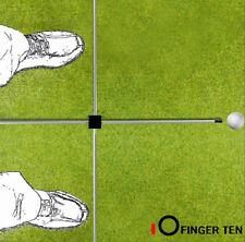 Golf Swing Training Aids Alignment Sticks Plane Tour Putting Practice Rods