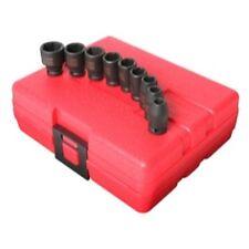 """Sunex Tools 1809 9 Piece 1/4"""" Drive Estandar métrica juego de llaves de vaso"""