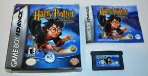 CIB HARRY POTTER AND THE SORCERER'S STONE NINTENDO GAMEBOY ADVANCE COMPLETE BOX