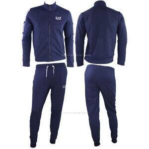 Emporio Armani EA7 Tracksuit pants Sweatshirt Man  6KPV56 PJ9FZ blue