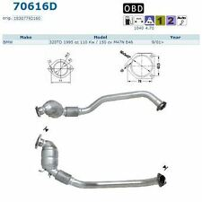 Catalyseur BMW 320d 318d 2.0TD E46 Berline 8/99-9/05