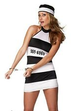 Brand new sexy woman prisoner party costume outfit  Size 6/8