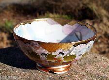 Bol porcelaine peint à la main CHINE BOL de présentation rareté