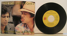 """Rolling Stones """"Waiting on a Friend"""" 45rpm w/ PS NM Store Stock"""