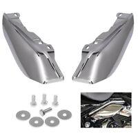 Chrome ABS Mid-Frame Air Deflector Heat Shield For Harley Road Glide 09-16 BTB2