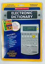 Scholastic Electronic Dictionary Ultra Slim Flexible Keypad