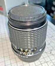 Pentax SMC-M 135mm f3.5 telephoto lens, Pentax K mount, 1980s