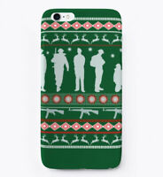 Veteran Ugly Christmas Gift Phone Case iPhone