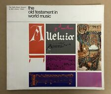 The Old Testament in World Music - Haifa Music Museum - Hebrew / English - 1979