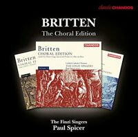 Finzi Singers - Britten: The Choral Edition [Paul Spicer, Finzi [CD]