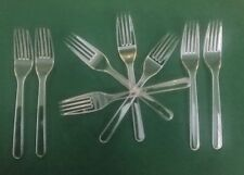 360 Ct Plastic Disposable-Formal Clear Extra Heavy Duty Washable.Reusable Forks