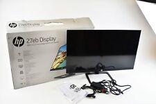 """HP 27eb 27"""" FHD IPS Display Monitor - Black (X3W27AA#ABA)"""