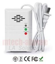 Détecteur GAZ pour Alarme maison GSM/RTC 433 Mhz