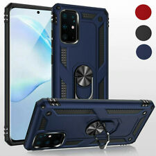 Hybrid Armor Case Shockproof Cover Ring Stand Holder For Samsung A71 A41 S20 A51