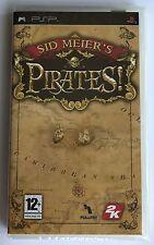 PSP Sid Meier's Pirates (2007) UK Pal, Brand New & Sony Factory Sealed