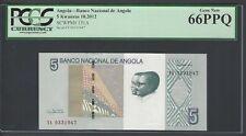 Angola 5 Kwanzas 10-2012 P151A Uncirculated Graded 66