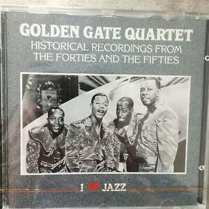 GOLDEN GATE QUARTET: Historical Recordings (NL CD CBS 466446 2 / OVP)