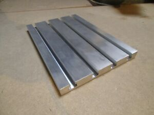 T- Nutenplatte 400 x 200 x 20mm aus Aluminium Almg 4,5 Drehen Fräsen Spannen