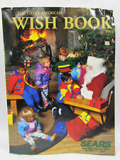 Vintage 1992 Sears Wish Book Christmas Holiday Catalog Star Trek Nintendo PDA's