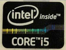 Genuine Intel Core i5 Inside Black Case Badge Sticker (2nd 3rd Generation)