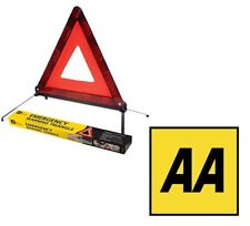 AA EEC Approved Car Warning Triangle - Required When Driving In Europe