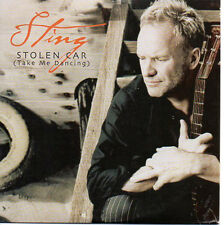 ★☆★ CD Single STING Stolen car - Promo 3-track CARD SLEEVE  ★☆★