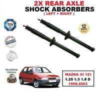 ARRIÈRE GAUCHE + DROIT Amortisseurs SET pour Mazda III 121 1.25 1.3 1.8 D