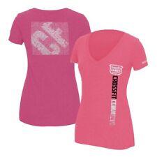 Reebok 2012 CrossFit Games Community Women's Pink Tri-Blend V-Neck T-Shirt