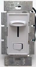 Lutron Skylark SCL-153P-WH White 3-Way Dimmer/Rocker LED/CFL Light Switch 150W