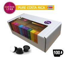 100 coffeestar COSTA RICA singola origine Nespresso Compatibile Capsule